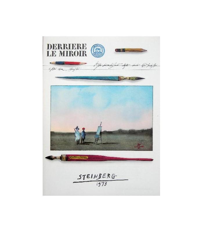 Derri re le miroir n 205 steinberg librairie basse for Derriere miroir