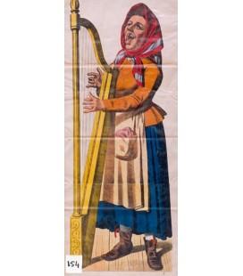 Harpiste - Harpist
