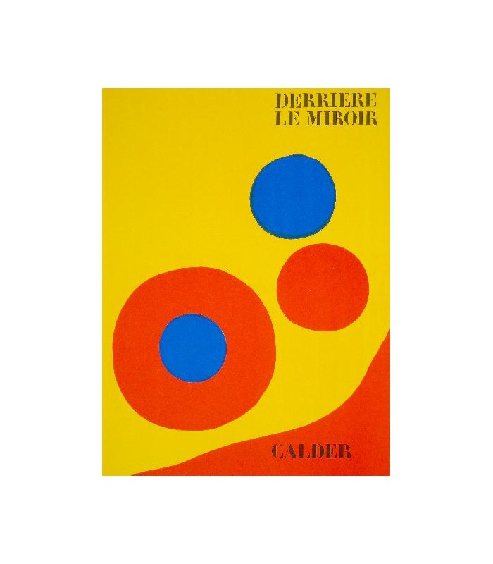 Alexander calder librairie basse fontaine for Derriere le miroir calder