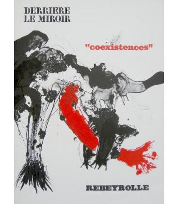 Derri re le miroir n 187 rebeyrolle librairie basse for Derriere miroir