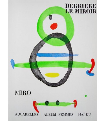 "Derrière Le Miroir N° 169. Miro "" Aquarelles, Albums Femmes, Hai-Ku"""