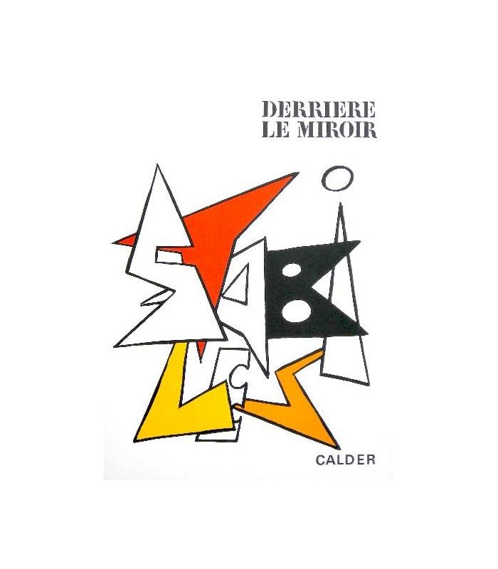 Derri re le miroir n 141 calder librairie basse fontaine for Derriere le miroir calder