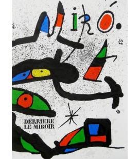 Derrière Le Miroir N° 231. Miro.