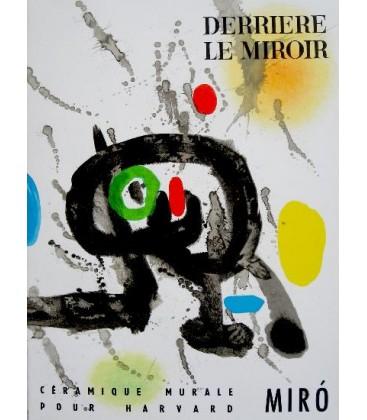 """Derrière Le Miroir N° 123. Miro """" Céramique Pour Harvard"""""""