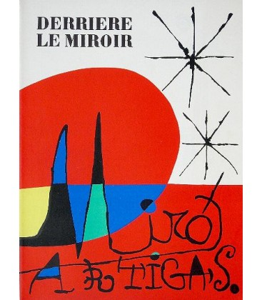 Derrière Le Miroir N° 87-88-89. Joan Miro. Llorens Artigas.