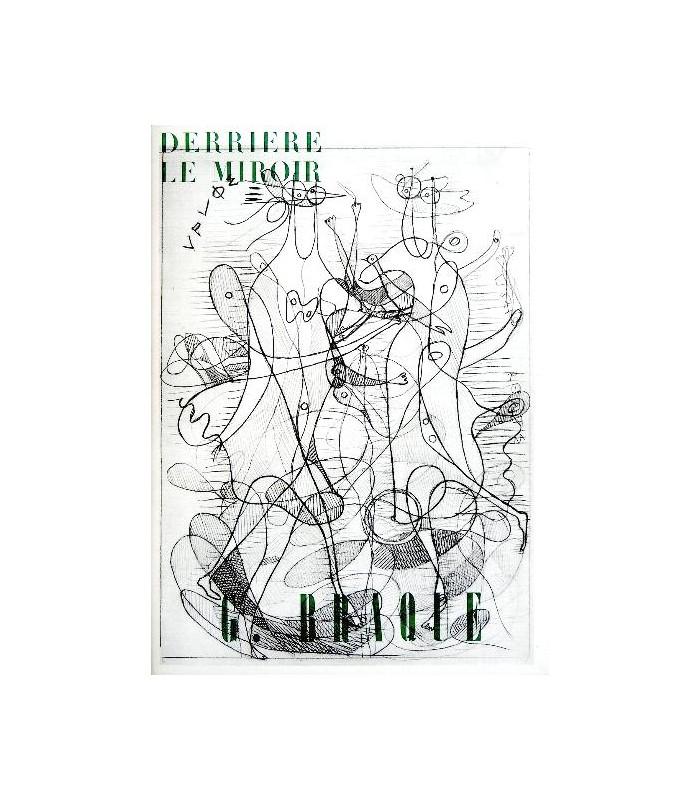 Derri re le miroir n 71 72 braque librairie basse for Le miroir 71
