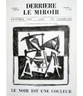 Derrière Le Miroir N° 1. Geer Van Velde. Le Noir Est Une couleur.
