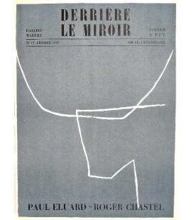 Derrière Le Miroir N° 17. Roger Chastel, Paul Eluard.
