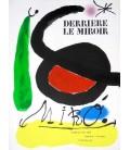 """Derrière Le Miroir N° 164-165. Miro """" L'oiseau Solaire, L'oiseau Lunaire, Etincelles"""""""
