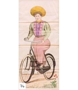 Femme cycliste - Cyclist