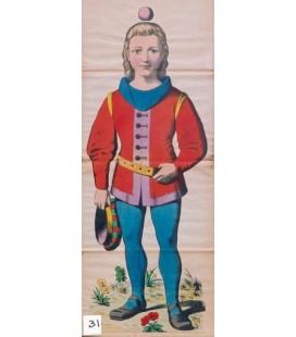 Le fils de Guillaume Tell - Guillaume Tell's son.